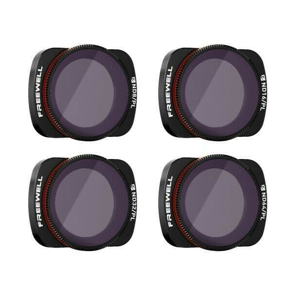 Freewell Bright Day 4 Pack for DJI Osmo Pocket 1 & 2