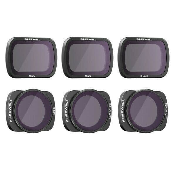 Freewell Budget 6 Pack Filters For DJI Osmo Pocket