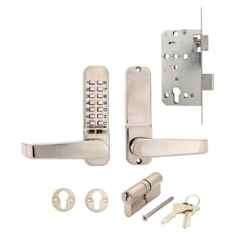 Codelock CL420 Mortice Lock with Cylinder and Anti Panic safety Function