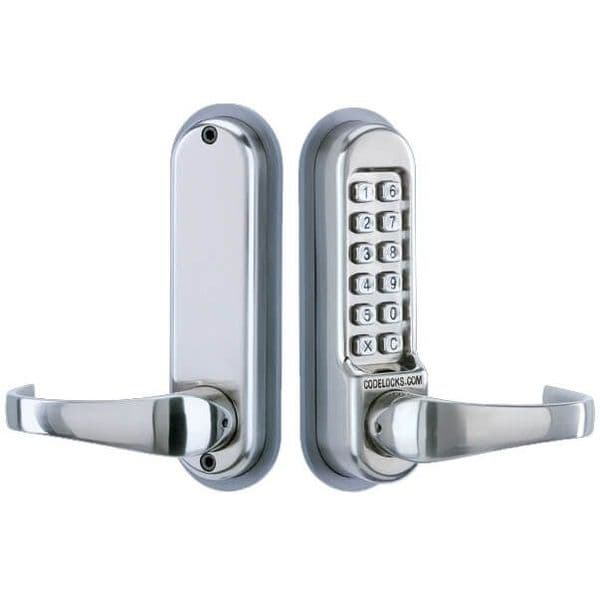 Codelock CL515 Tubular Mortice Latch Lock with Code Free