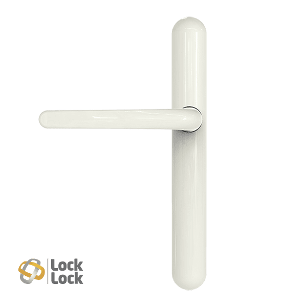 Lock Lock High Security Handle - 122mm Screw Centres - Blank Internal / External