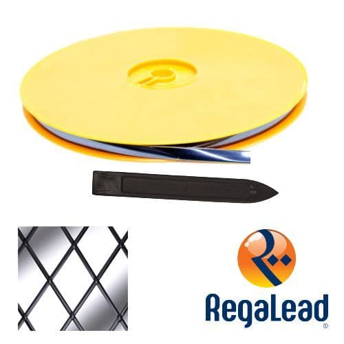 RegaLead Natural Window Lead - 50 Metre Reel - Available in 3 Sizes