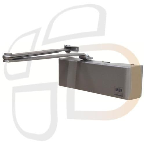 Union 8824 Signature Size 2-4 Overhead Door Closer With Backcheck