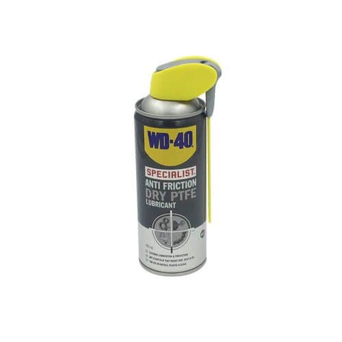 WD-40 Anti Friction Dry PTFE Lubricant
