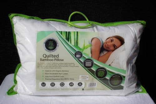 Bamboo Comfort Quilted Pillow