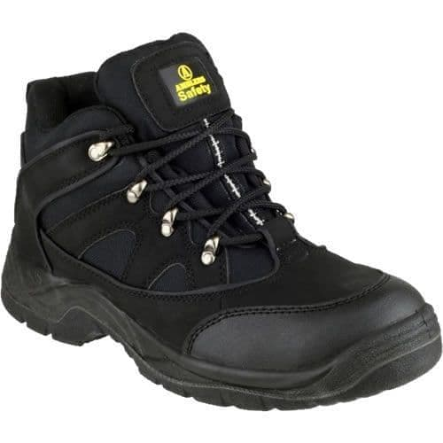 Amblers  FS151 Black Lightweight Safety Boots