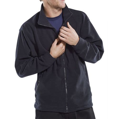 Click Navy Fleece Jacket