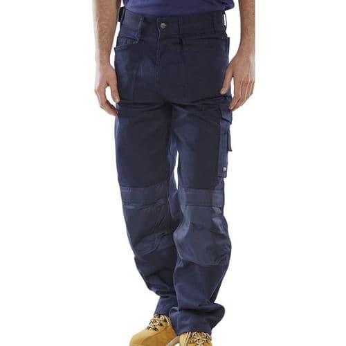 Click Premium Navy Multi-Purpose Trousers