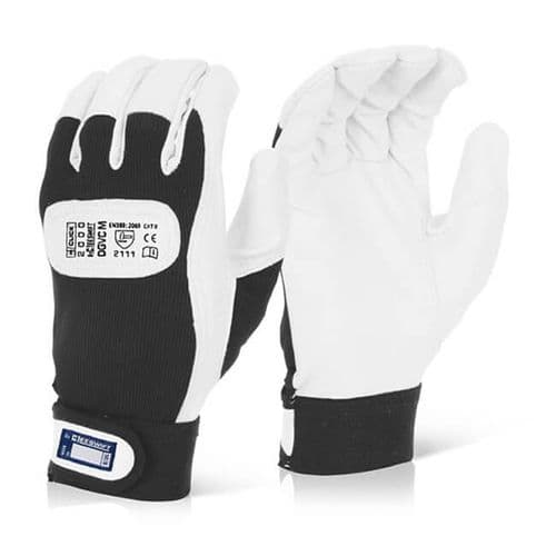 Click Velcro Cuff Drivers Gloves - 10 Pairs