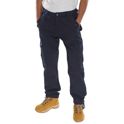 Click Workwear PCCT Navy Combat Trousers