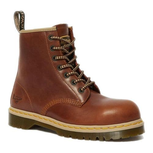 Dr Martens Icon 7B10 Safety Boots - Tan