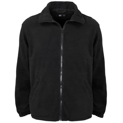 Supertouch Black Fleece Jacket