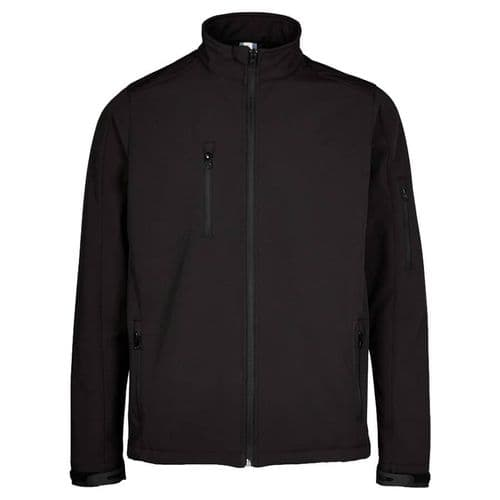 Supertouch Black Soft Shell Jacket