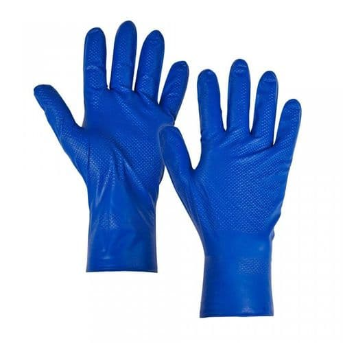 Supertouch Blue Fish Scale Gloves - 500 Pack