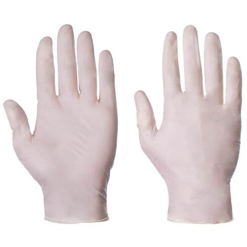 Supertouch Industrial Powdered Latex Gloves - 1000 Pack