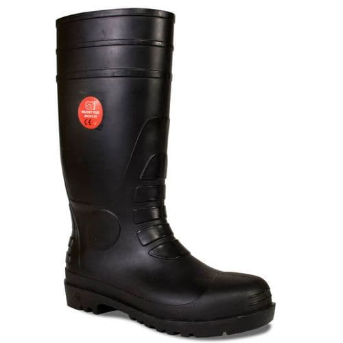 Supertouch Muddy Plus Black Safety Wellingtons
