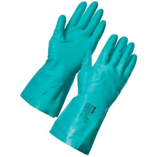 Supertouch N15 Green Nitrile Gloves - 144 Pairs