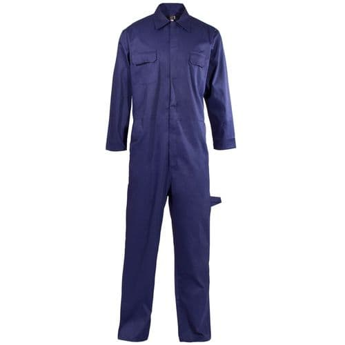 Supertouch Navy Polycotton Coverall Boilersuit