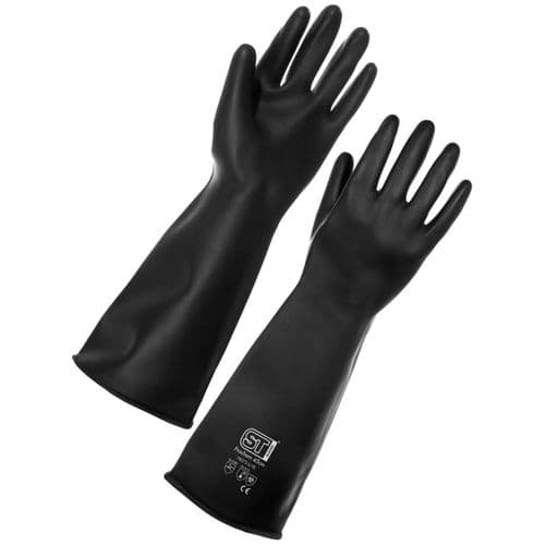 Supertouch Prochem 45cm Heavy Duty Rubber Gloves - 24 Pairs