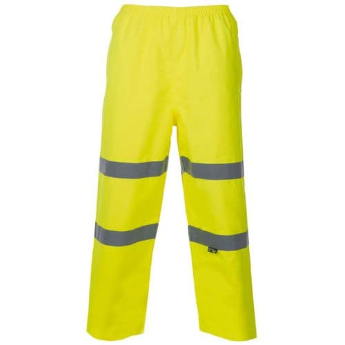 Supertouch Yellow Hi Vis Breathable Trousers