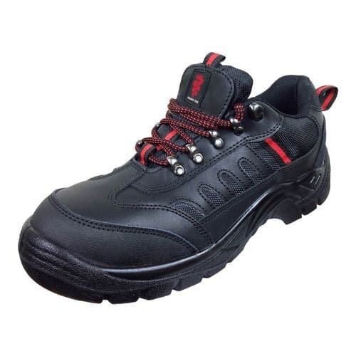 Warrior Black Safety Trainer Shoes