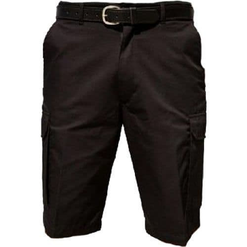 Warrior Black TR322 Cargo Shorts