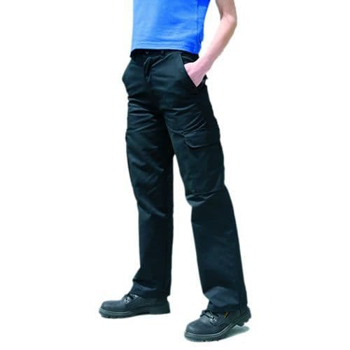 Warrior Navy Ladies TR328 Cargo Trousers
