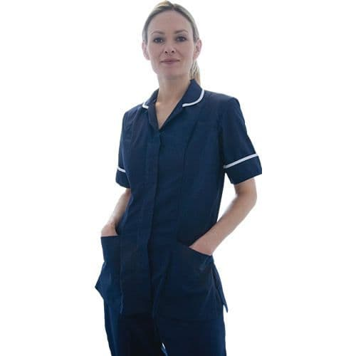 Warrior Nurses Navy Tunic & White Trim
