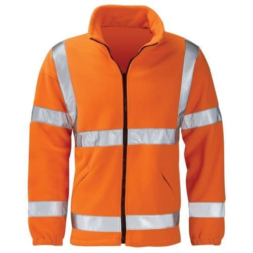 Warrior Orange Hi Vis Hudson Fleece