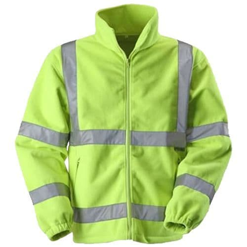 Warrior Yellow Hi Vis Hudson Fleece
