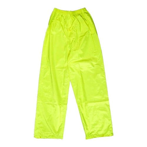 Warrior Yellow Waterproof PVC Trousers