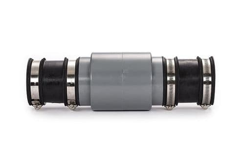 """6"""" Overflow Rodent and Insect Screen with Universal Connectors"""