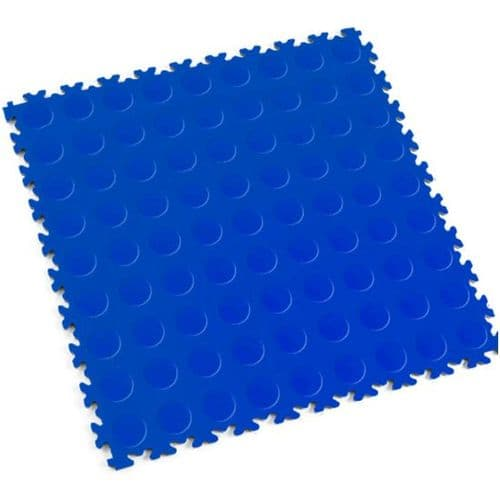 Blue Cointop - Motolock Interlocking Floor Tile