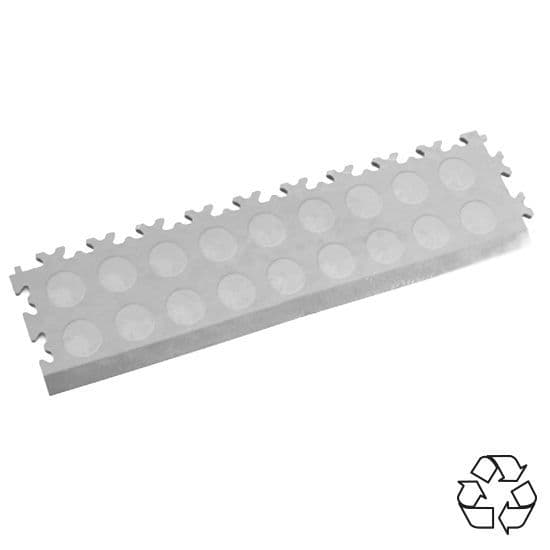 Light Grey Recycled Cointop - Tile Edging PVC | Mototile Shop