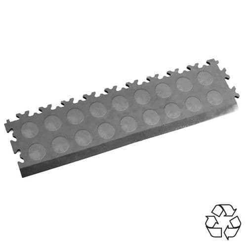 Mid Grey Recycled Cointop - Tile Edging PVC
