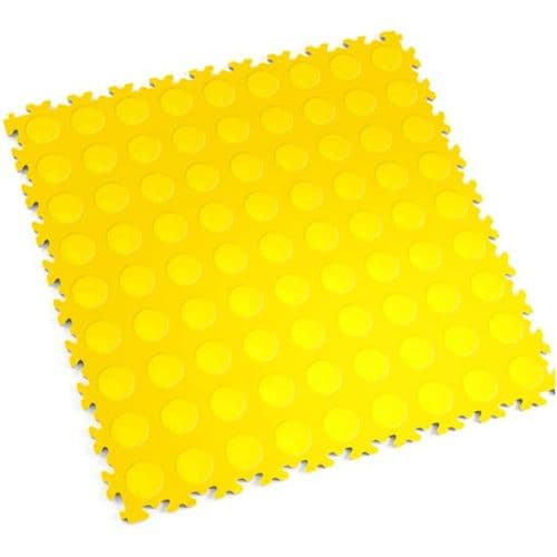 Yellow Cointop - Motolock Interlocking Floor Tile
