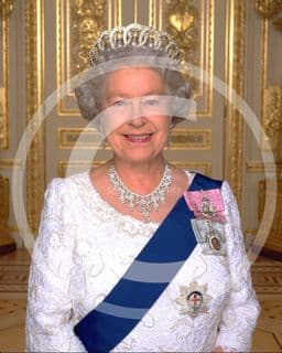 Official image of HM The Queen - D1/ML