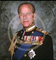 Official Image of HRH The Duke of Edinburgh in the uniform - D2/TO