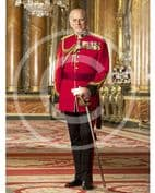 Official Image of HRH The Duke of Edinburgh wearing Canadian Orders - Ful Length - D4/CAN/JC