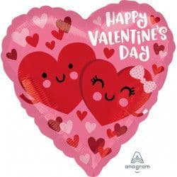 """*Anagram 18"""" S40 Hearts In Love Happy Valentine's Day Packaged"""
