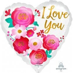 """*Anagram 18"""" S40 Ombre Flowers Love You Packaged"""