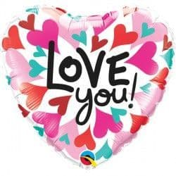 """*CONVERGING HEARTS LOVE YOU 18"""" PKT"""