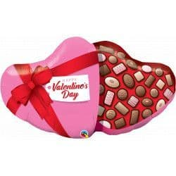 *Qualatex Group D Shape Candy Box Valentine's Day Packaged 39