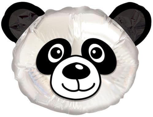 "10"" Panda Head Balloon"
