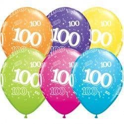 """100-A-ROUND 11"""" TROPICAL ASSORTED (25CT)"""