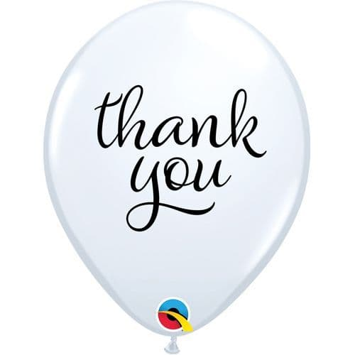 11 inch Simply Thank You Latex Balloons (25)