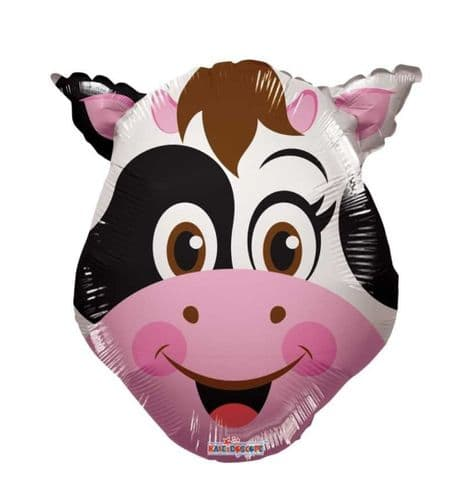 """14"""" Cow Balloon - Uninflated - Requires Heat Seal"""