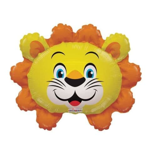"""14"""" Lion Balloon - Uninflated - Requires Heat Seal"""