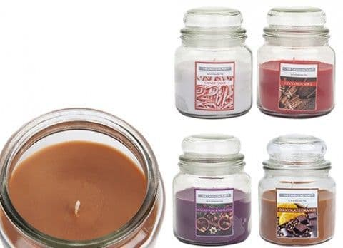 15OZ BELL JAR CANDLE CHRISTMAS  SCENT