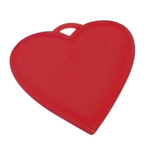 16g Bag of 50 Heart Shaped WEIGHTS